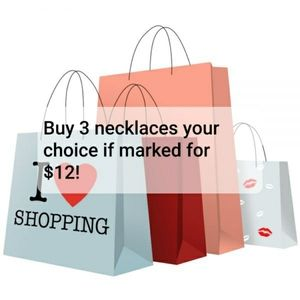 🎉 3 necklaces for $12🎉